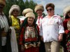 Участники народного башкирского театра на Областном Сабантуе.